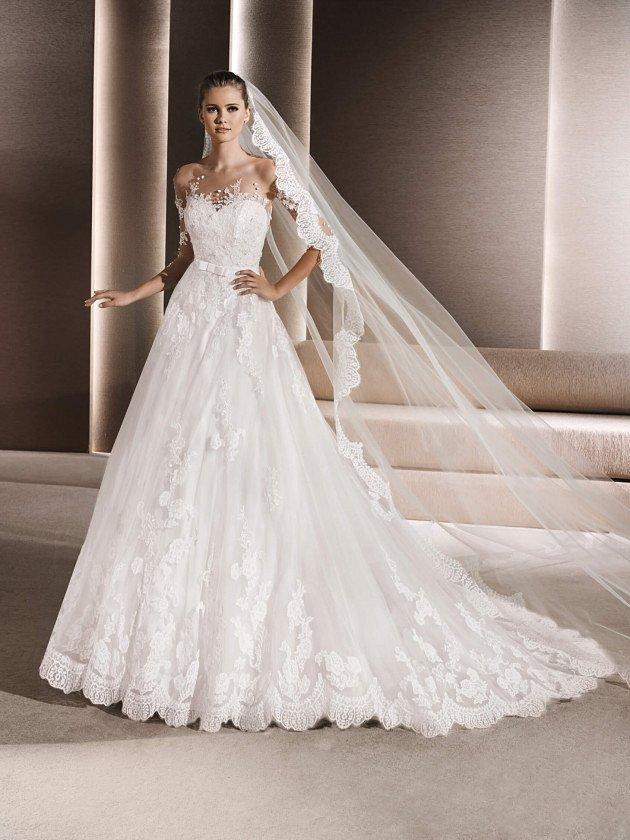 Коллекция свадебных платьев La Sposa 2017 фото №94