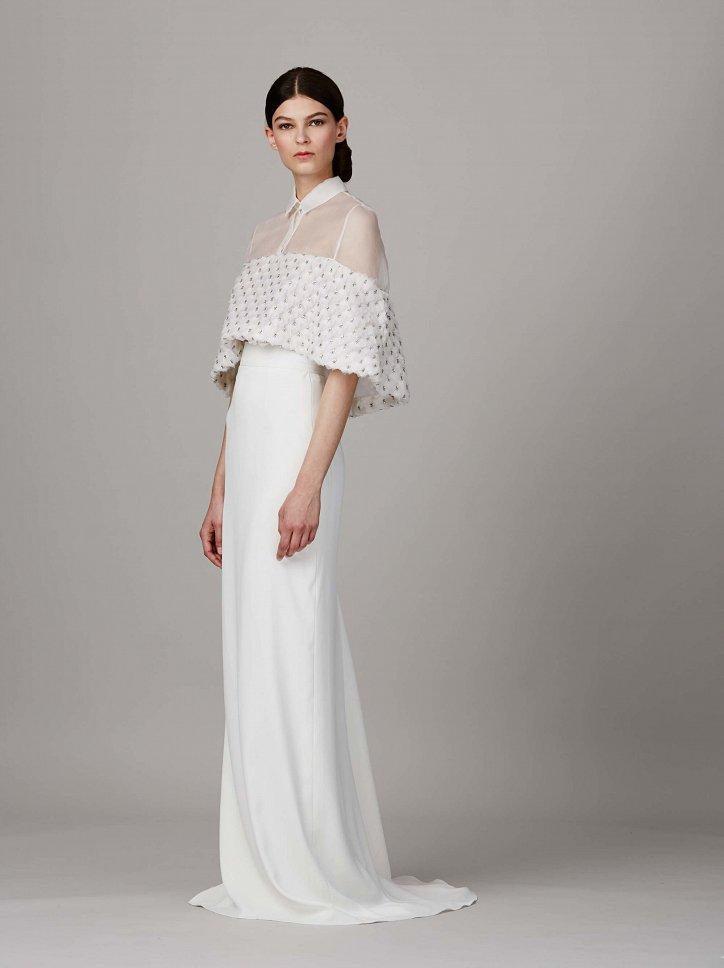Коллекция свадебных платьев Lela Rose весна 2017 фото №9