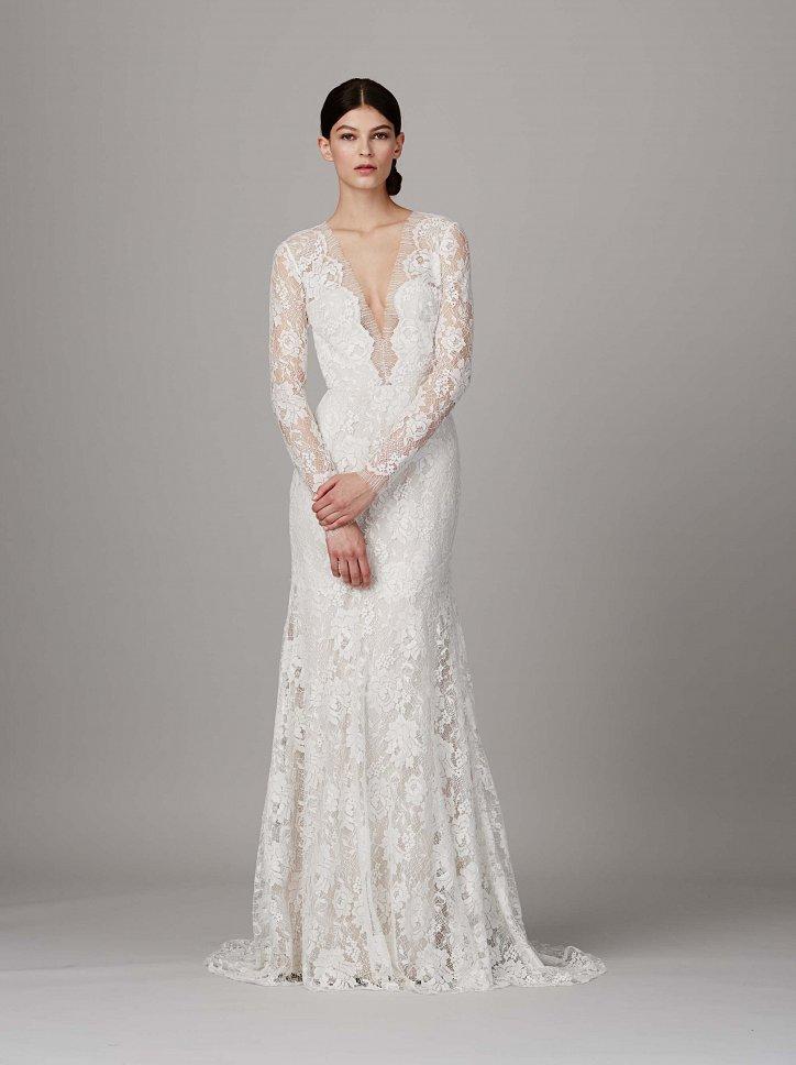 Коллекция свадебных платьев Lela Rose весна 2017 фото №10