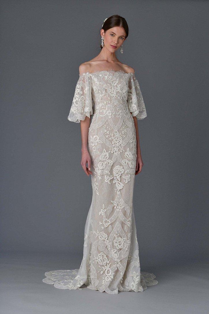 Коллекция свадебных платьев Marchesa весна 2017 фото №2