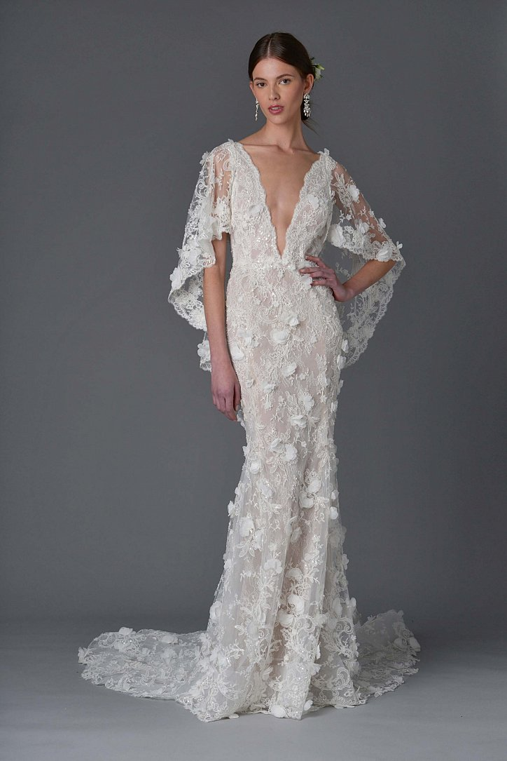 Коллекция свадебных платьев Marchesa весна 2017 фото №3