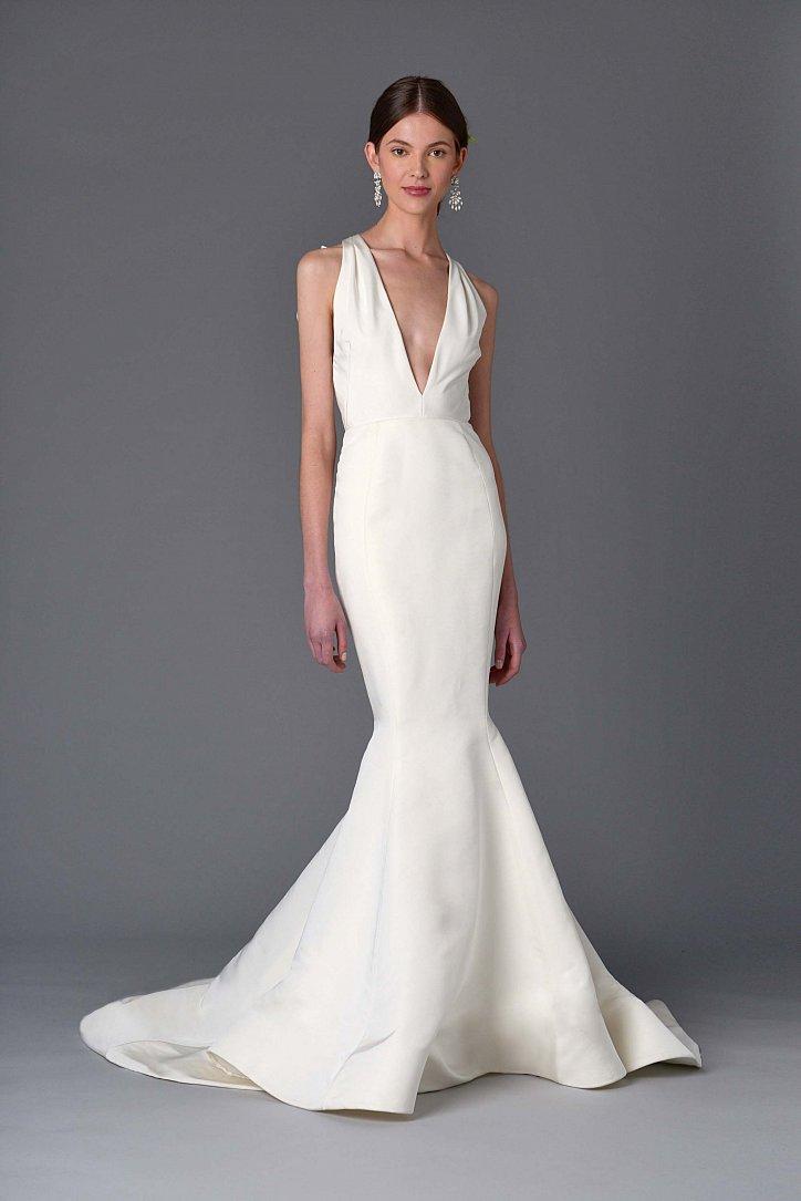 Коллекция свадебных платьев Marchesa весна 2017 фото №10