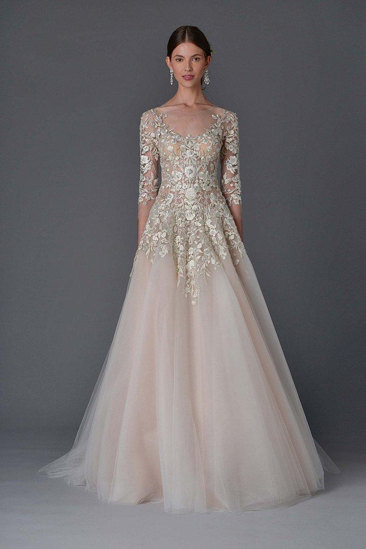 Коллекция свадебных платьев Marchesa весна 2017 фото №14