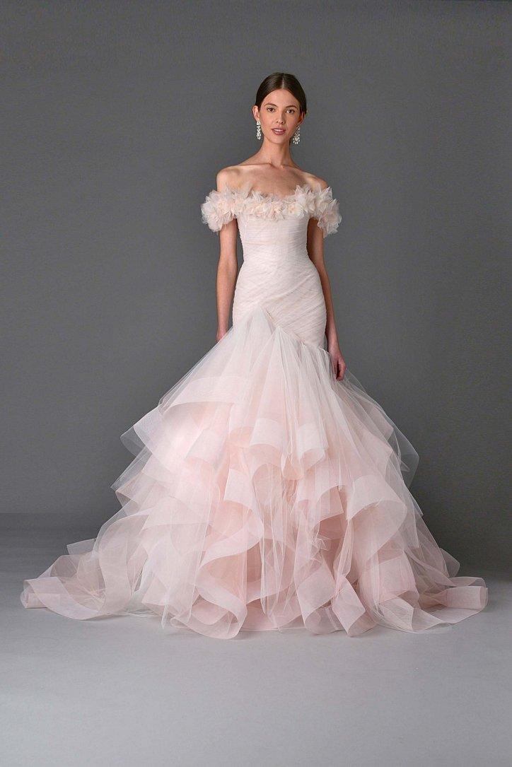 Коллекция свадебных платьев Marchesa весна 2017 фото №15