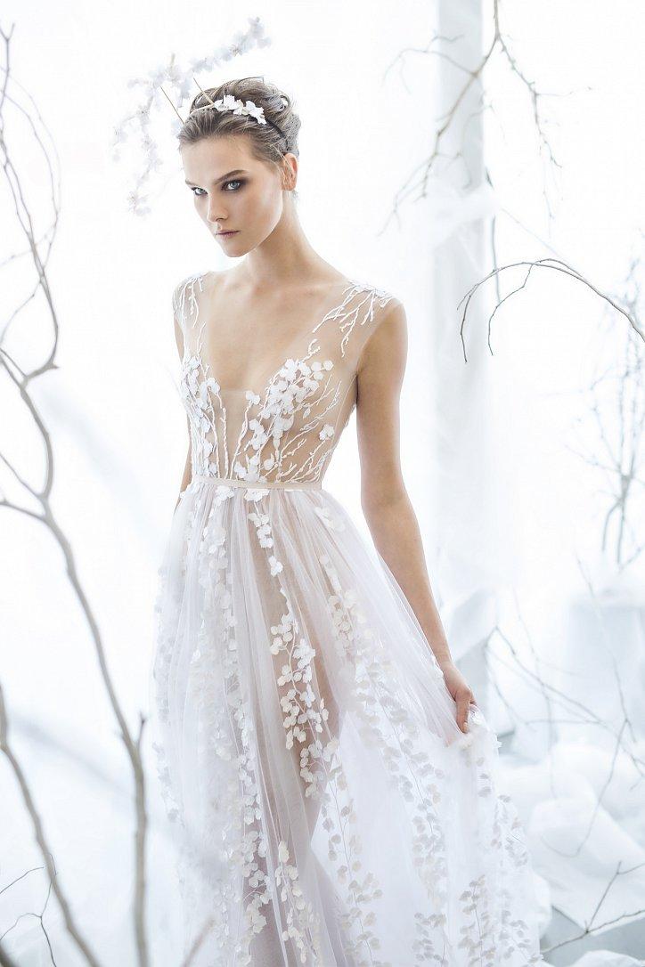 Коллекция свадебных платьев Mira Zwillinger 2017 фото №2