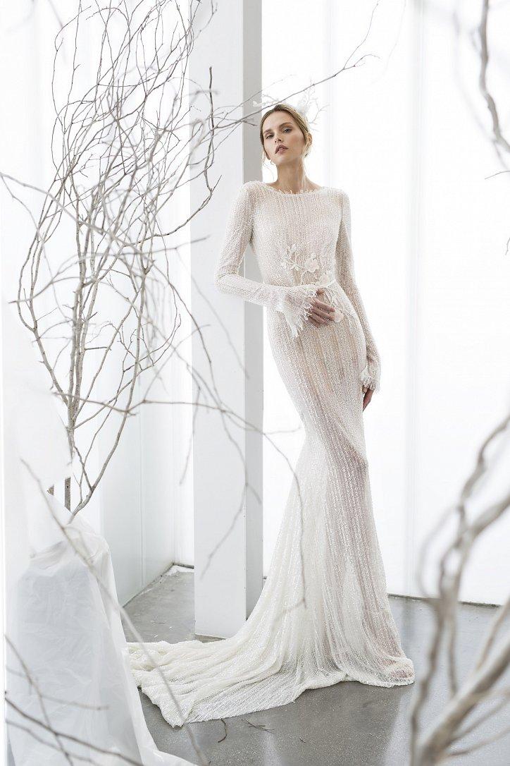 Коллекция свадебных платьев Mira Zwillinger 2017 фото №3