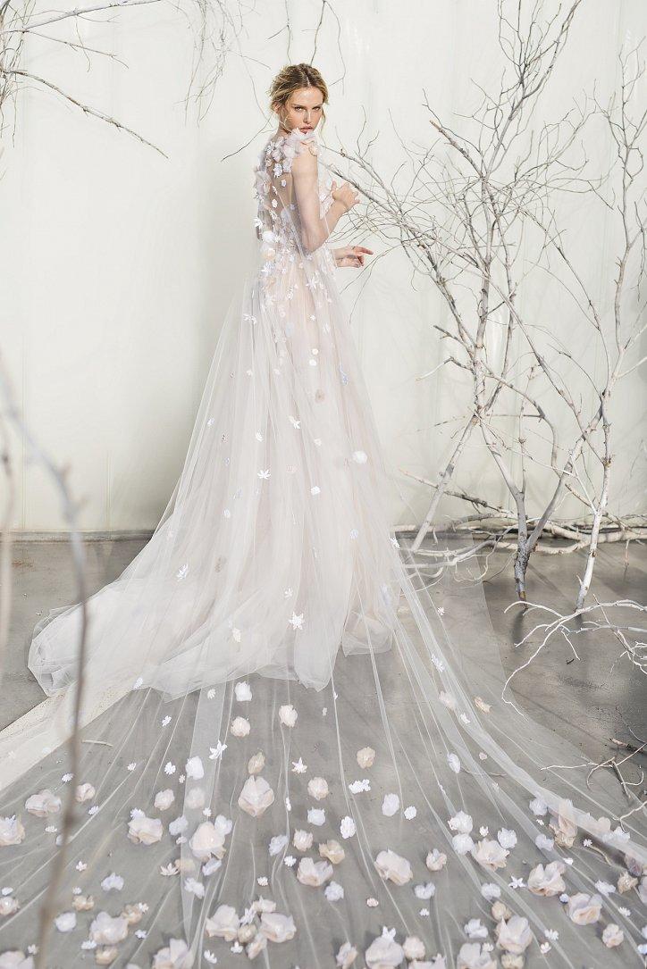 Коллекция свадебных платьев Mira Zwillinger 2017 фото №5