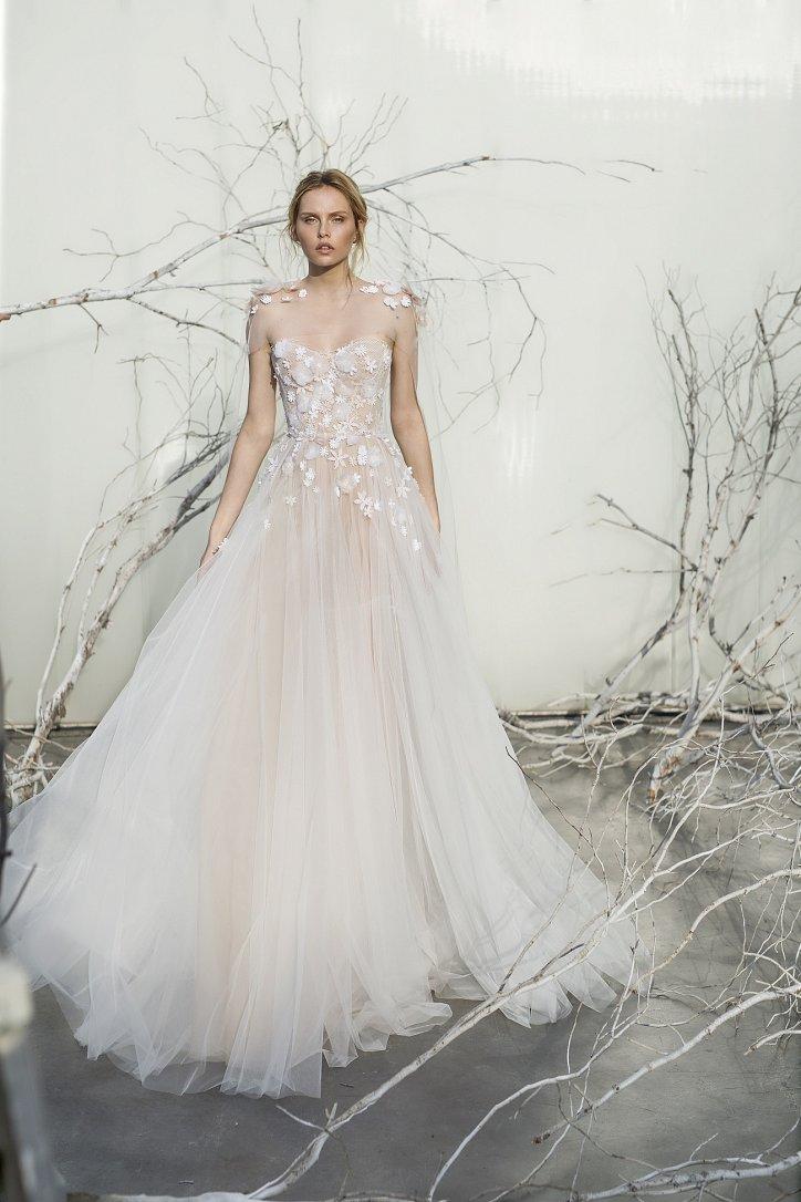 Коллекция свадебных платьев Mira Zwillinger 2017 фото №6