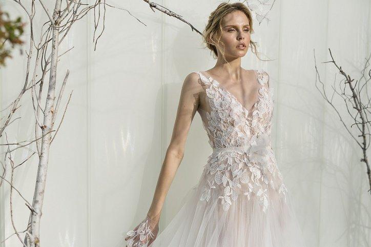 Коллекция свадебных платьев Mira Zwillinger 2017 фото №8