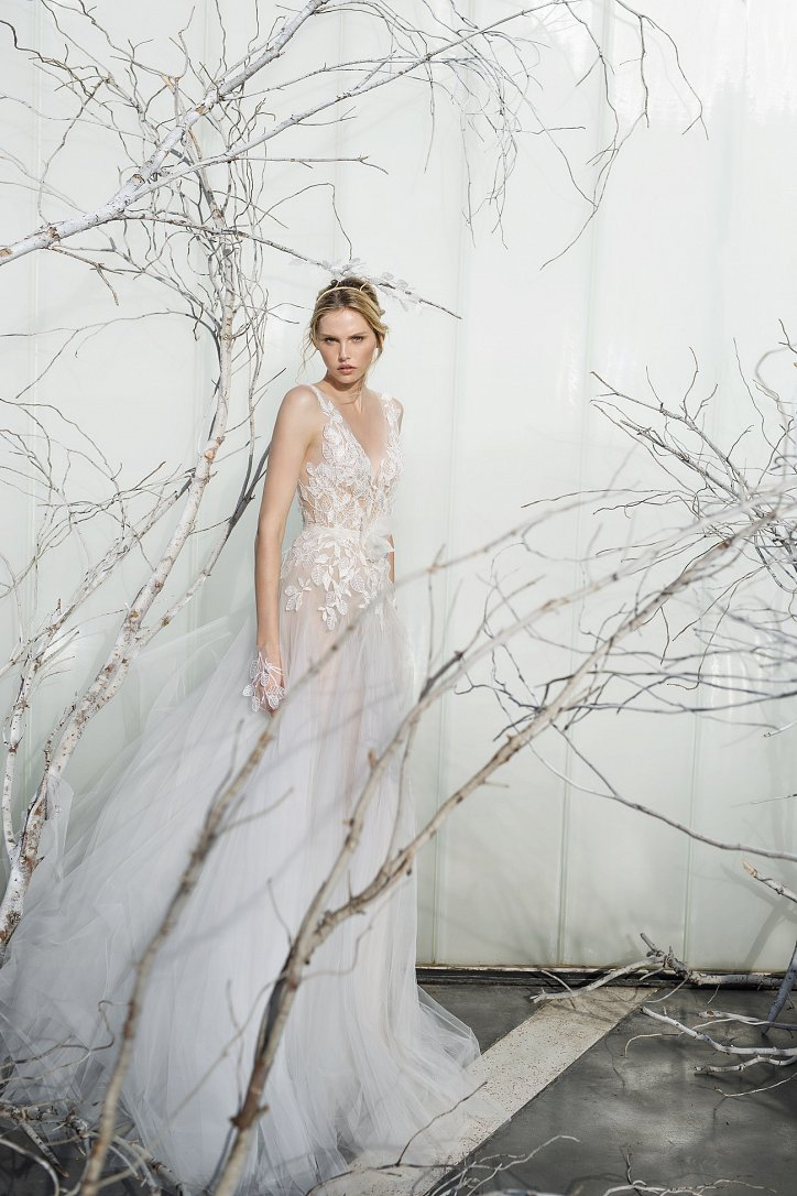 Коллекция свадебных платьев Mira Zwillinger 2017 фото №9