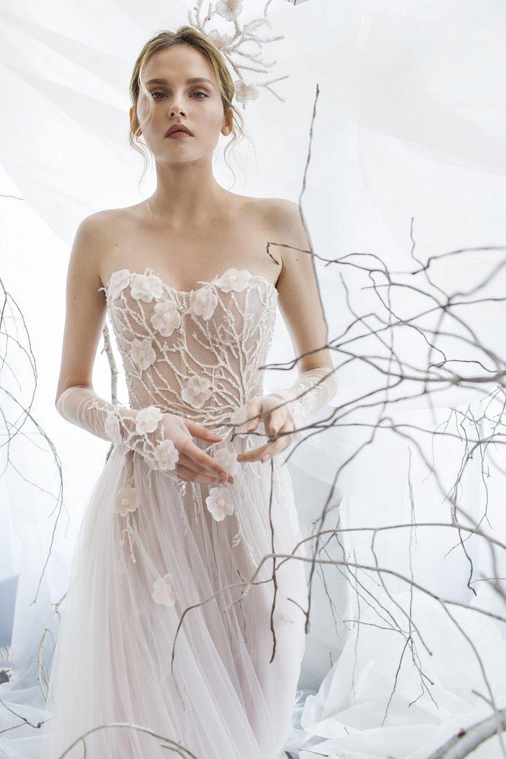 Коллекция свадебных платьев Mira Zwillinger 2017 фото №10