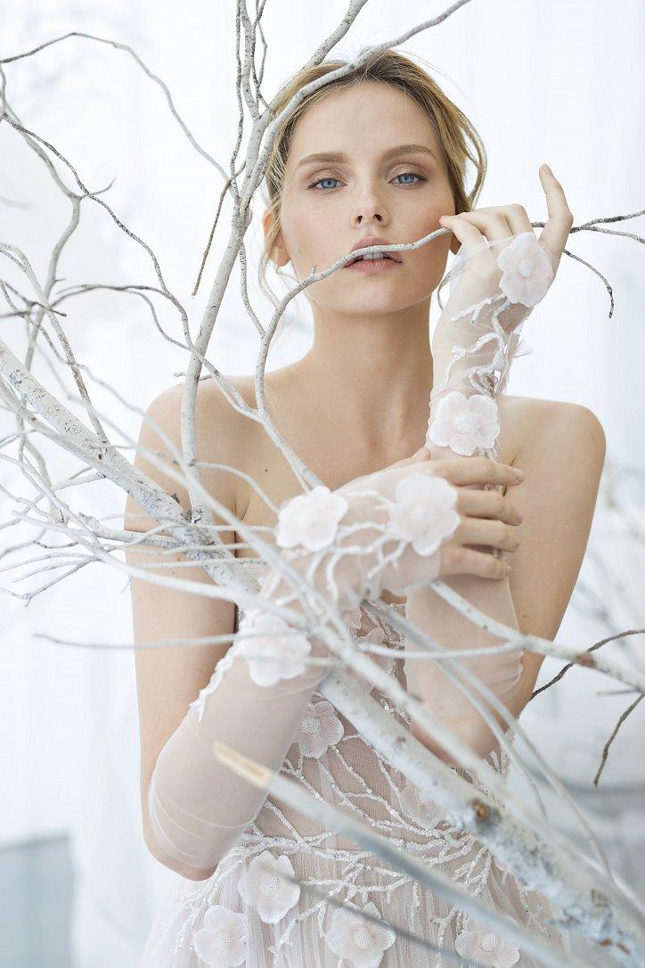Коллекция свадебных платьев Mira Zwillinger 2017 фото №12