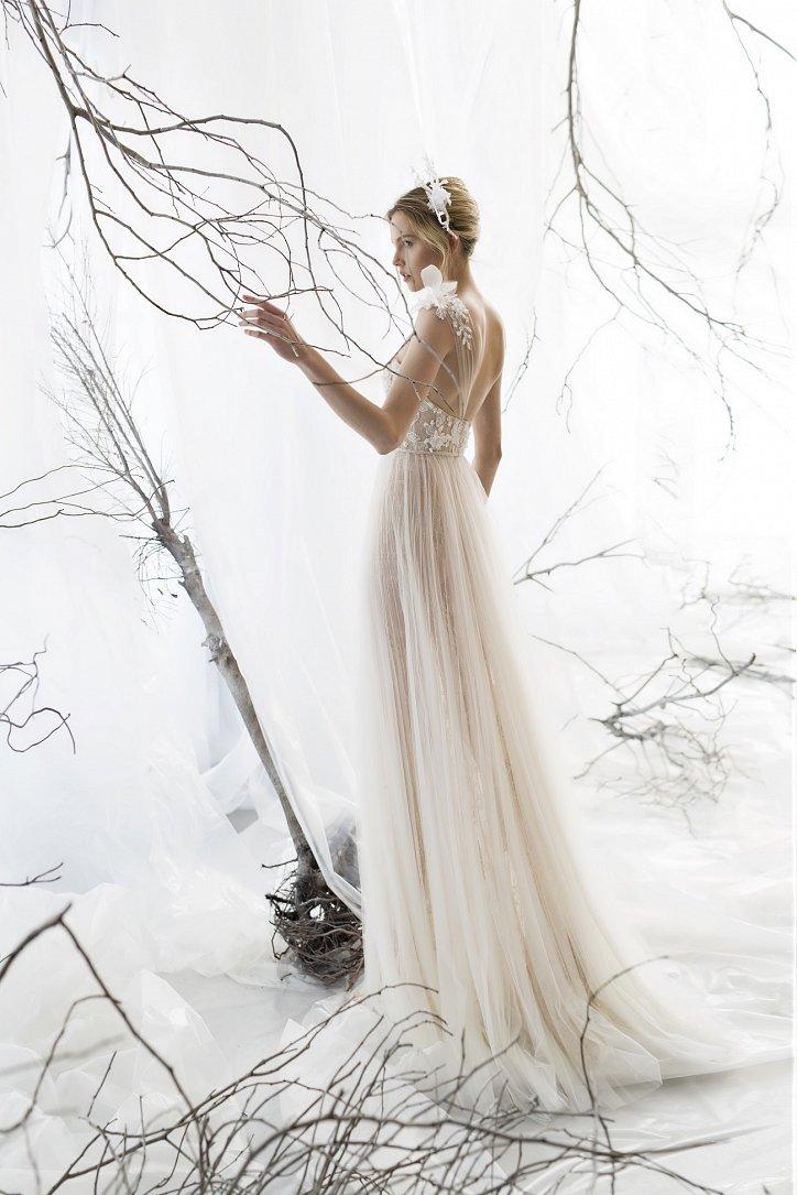 Коллекция свадебных платьев Mira Zwillinger 2017 фото №18