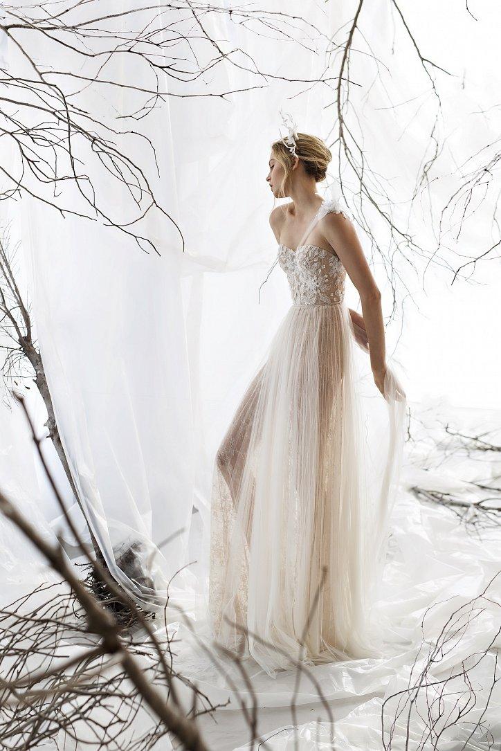 Коллекция свадебных платьев Mira Zwillinger 2017 фото №19