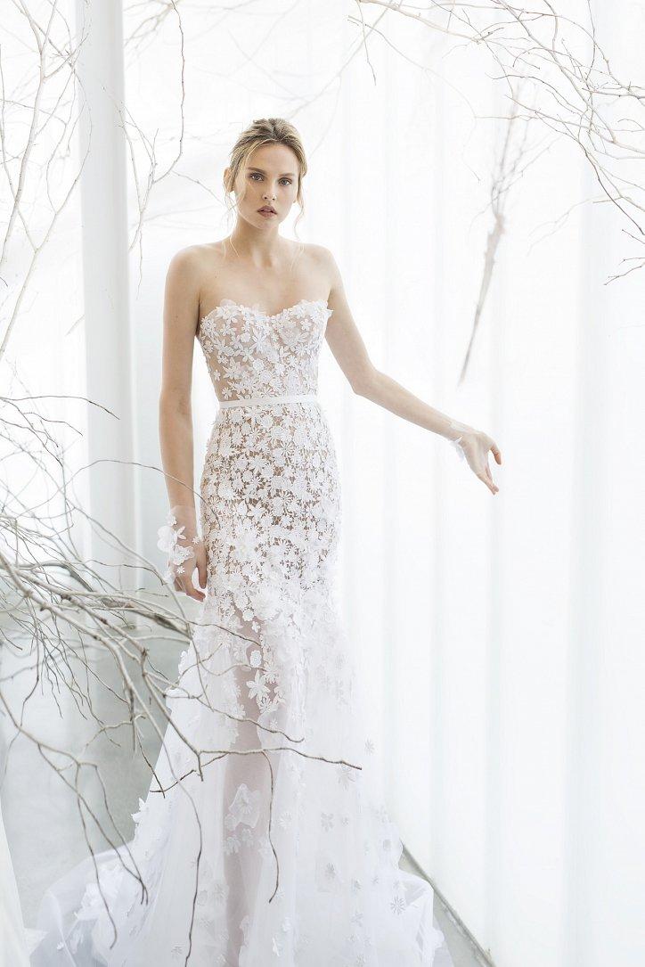 Коллекция свадебных платьев Mira Zwillinger 2017 фото №21