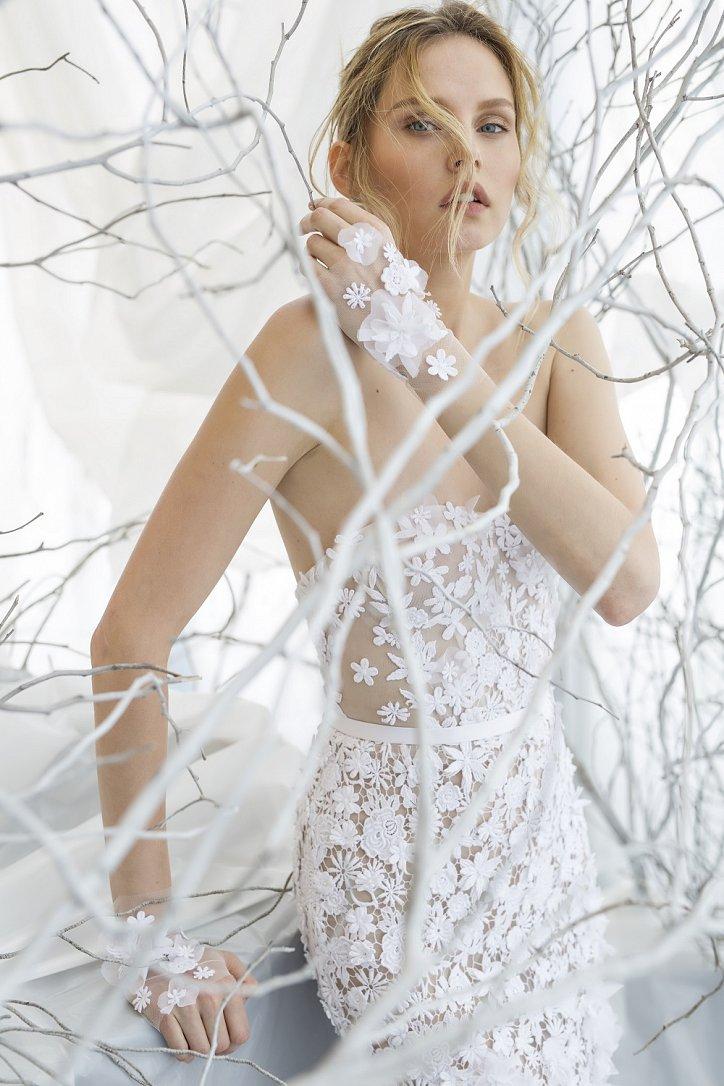 Коллекция свадебных платьев Mira Zwillinger 2017 фото №22