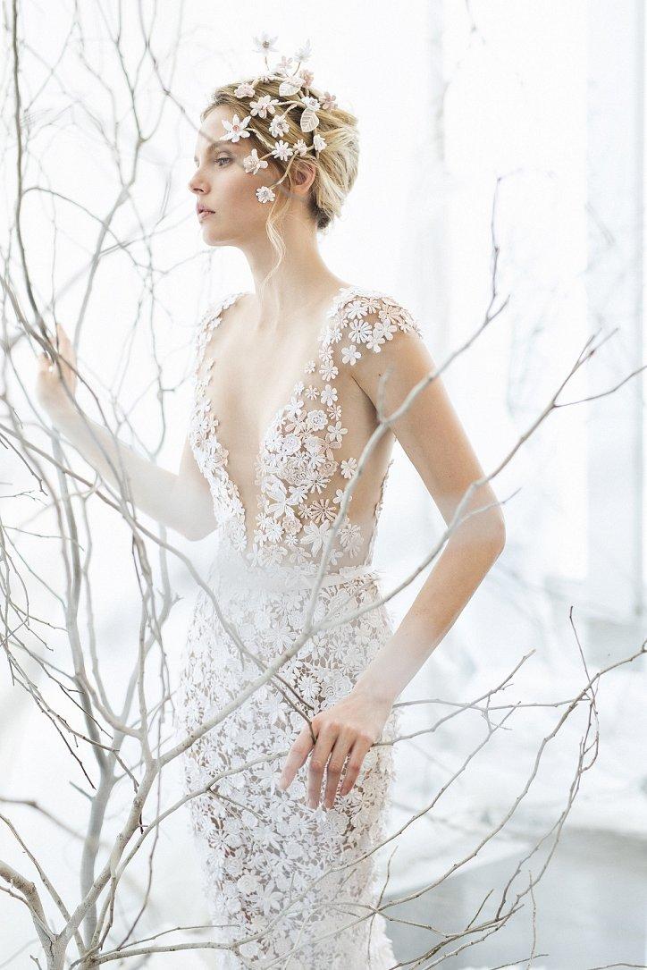 Коллекция свадебных платьев Mira Zwillinger 2017 фото №26