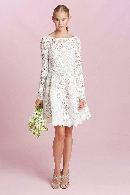 Коллекция свадебных платьев Oscar de la Renta осень-зима 2015-2016 фото №2
