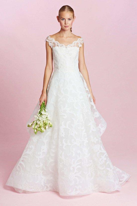 Коллекция свадебных платьев Oscar de la Renta осень-зима 2015-2016 фото №3