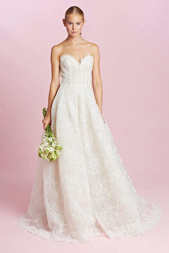 Коллекция свадебных платьев Oscar de la Renta осень-зима 2015-2016 фото №8