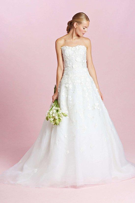 Коллекция свадебных платьев Oscar de la Renta осень-зима 2015-2016 фото №9