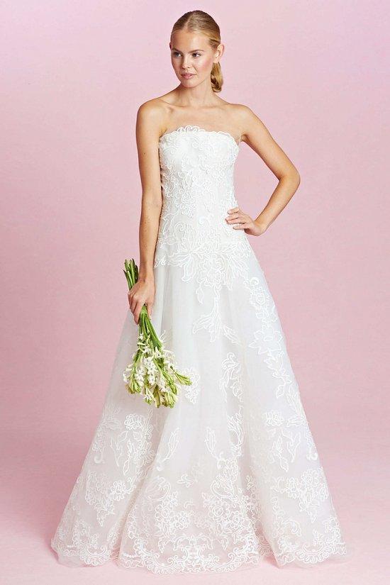 Коллекция свадебных платьев Oscar de la Renta осень-зима 2015-2016 фото №12
