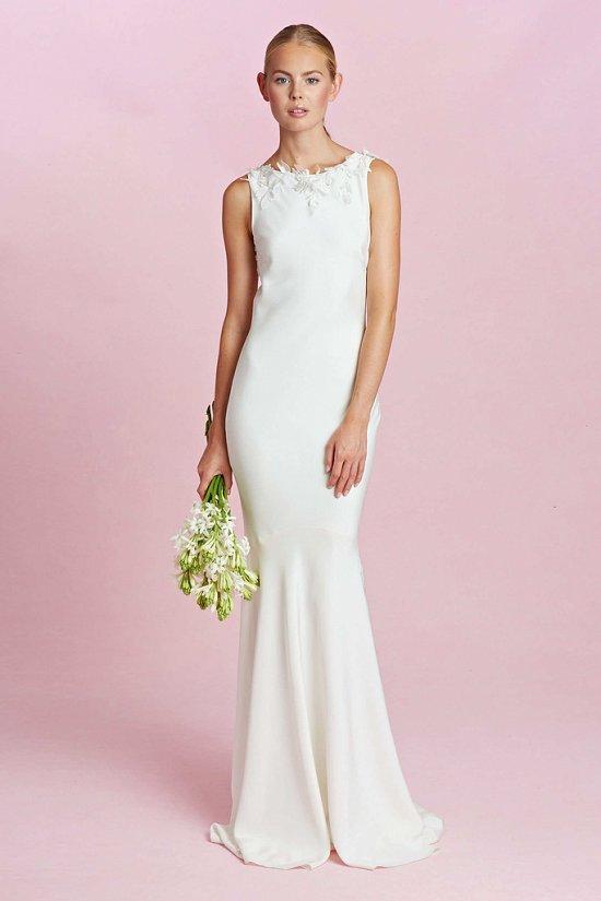Коллекция свадебных платьев Oscar de la Renta осень-зима 2015-2016 фото №14