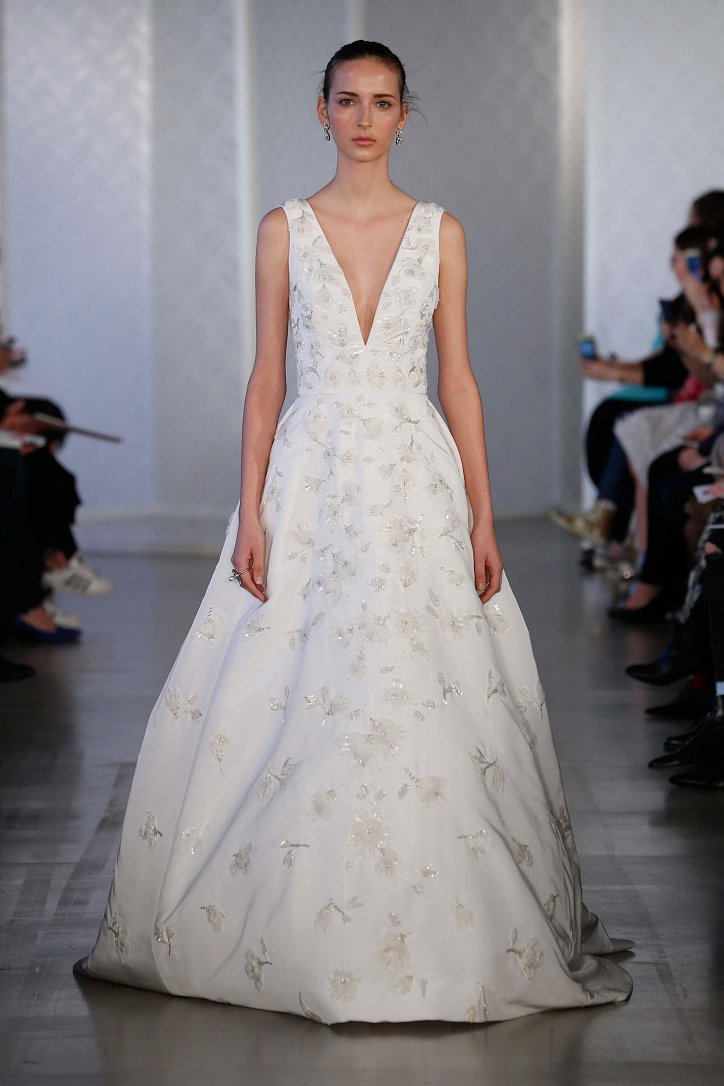 Oscar de la Renta Spring 2017 Bridal Collection