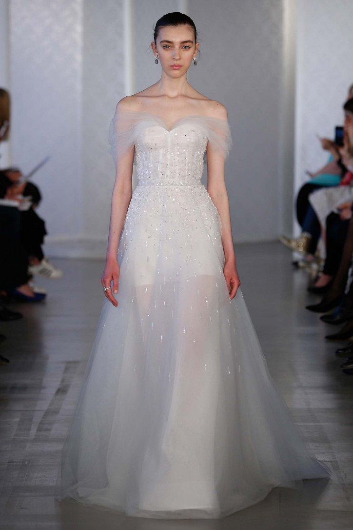 Коллекция свадебных платьев Oscar de la Renta весна 2017 фото №3