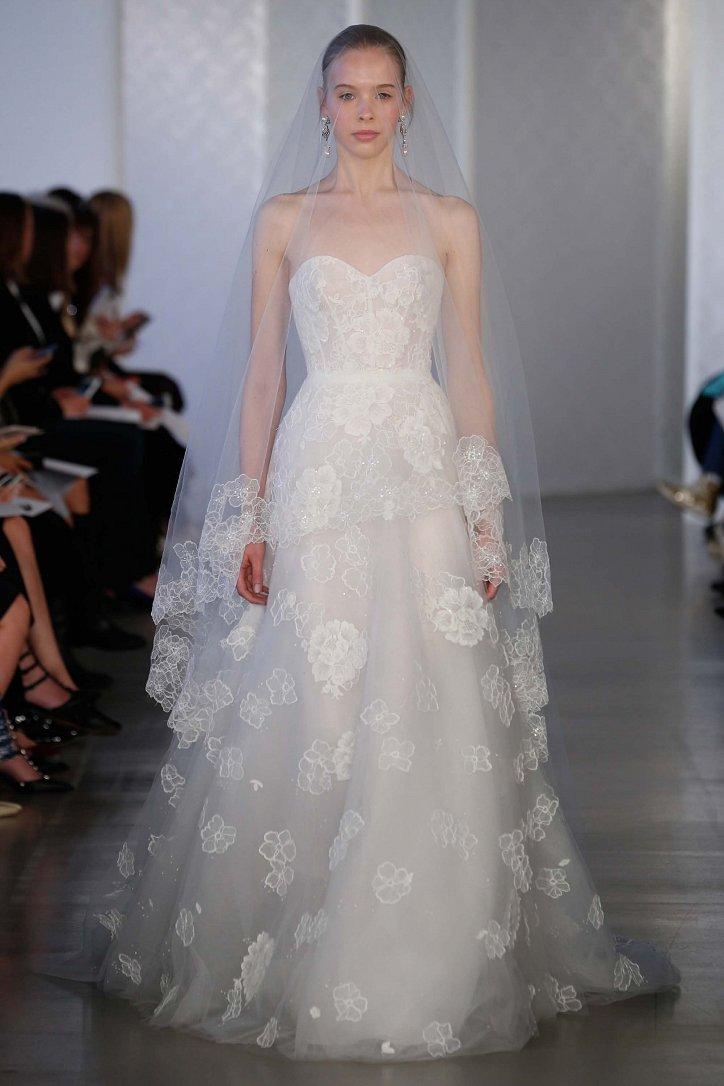 Коллекция свадебных платьев Oscar de la Renta весна 2017 фото №4
