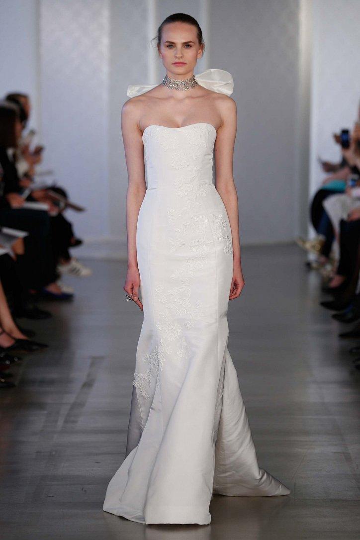 Коллекция свадебных платьев Oscar de la Renta весна 2017 фото №7