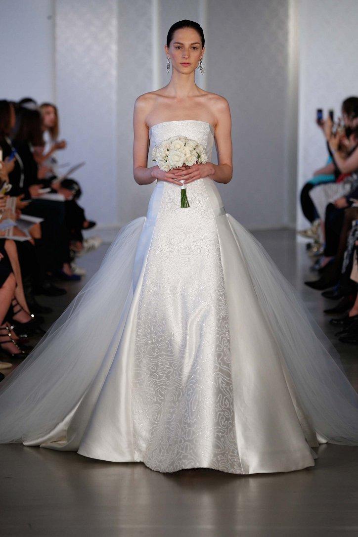 Коллекция свадебных платьев Oscar de la Renta весна 2017 фото №14