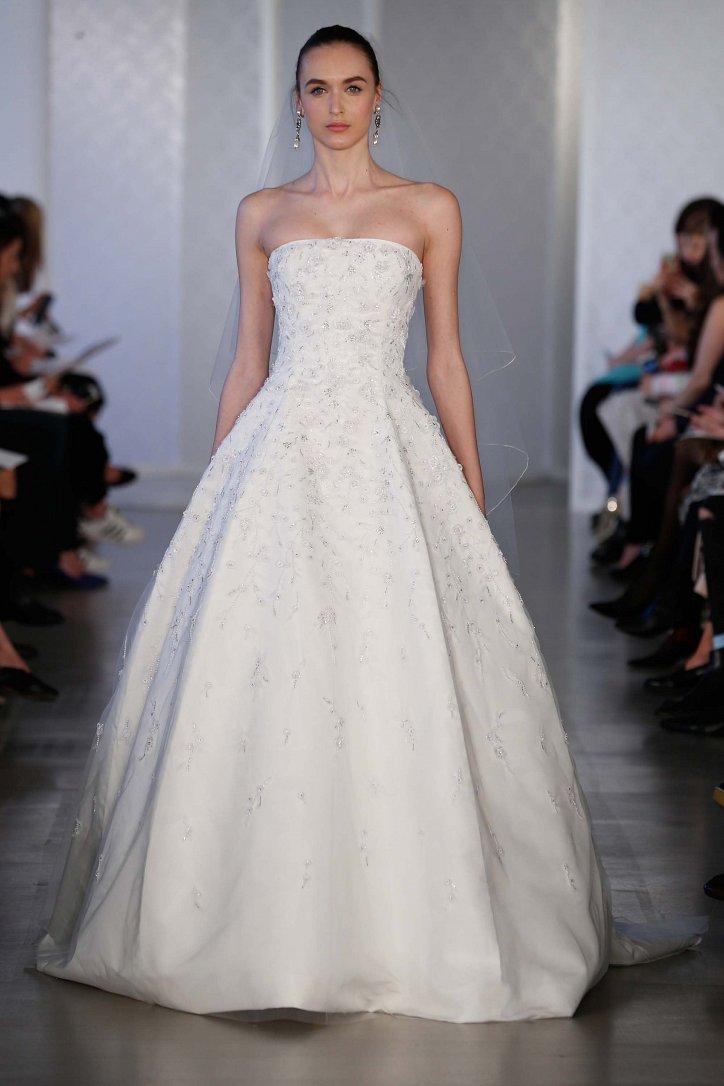 Коллекция свадебных платьев Oscar de la Renta весна 2017 фото №23