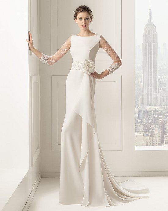 Коллекция свадебных платьев Rosa Clara 2015 фото №3