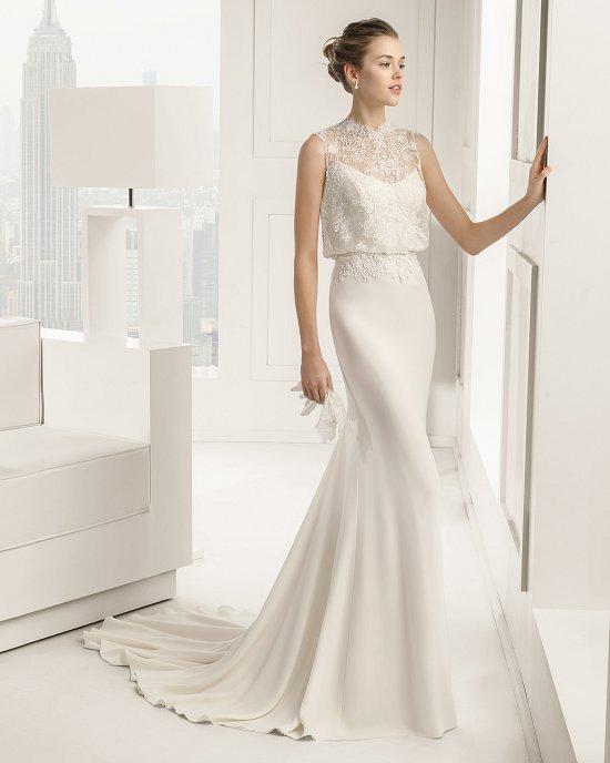 Коллекция свадебных платьев Rosa Clara 2015 фото №33