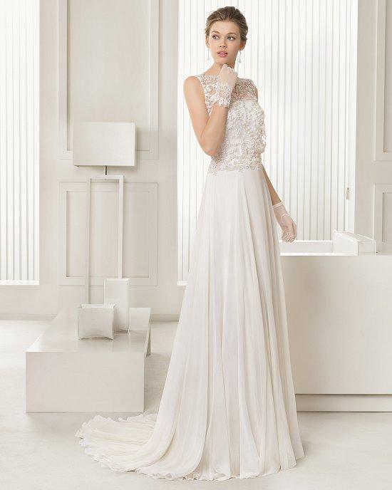 Коллекция свадебных платьев Rosa Clara 2015 фото №34