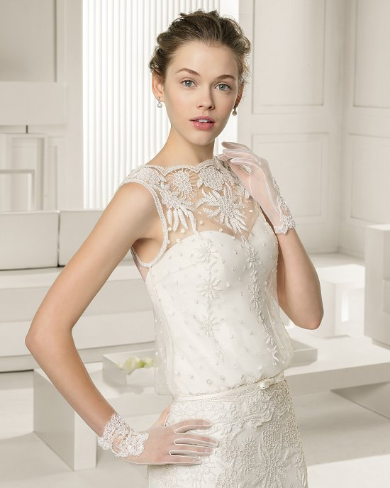 Коллекция свадебных платьев Rosa Clara 2015 фото №43