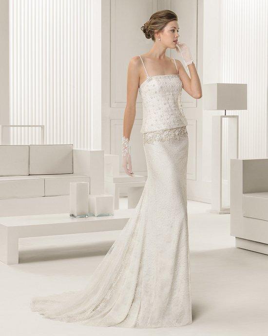 Коллекция свадебных платьев Rosa Clara 2015 фото №45