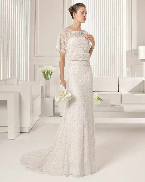 Коллекция свадебных платьев Rosa Clara 2015 фото №46