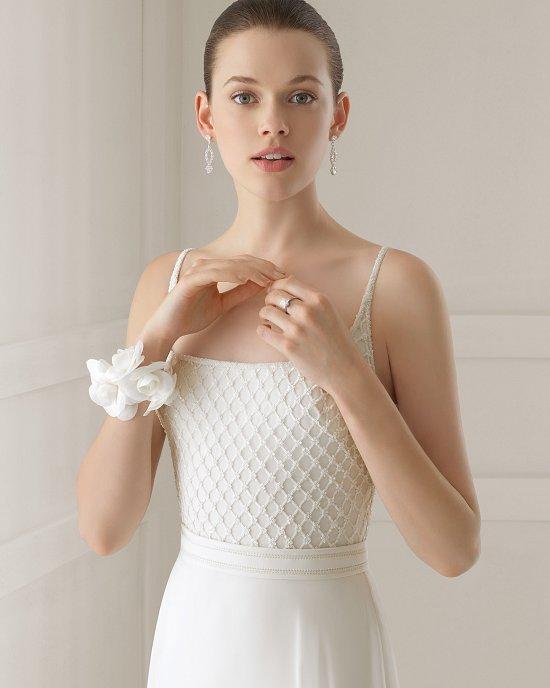 Коллекция свадебных платьев Rosa Clara 2015 фото №48