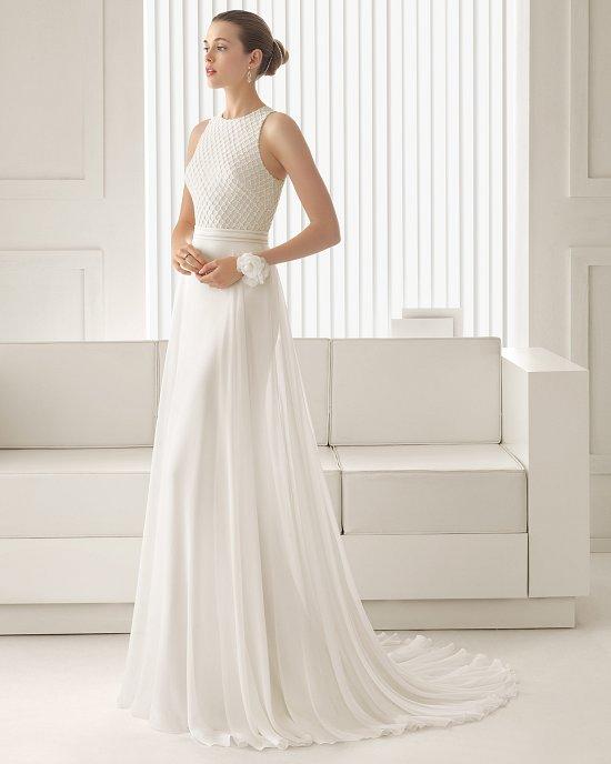 Коллекция свадебных платьев Rosa Clara 2015 фото №50