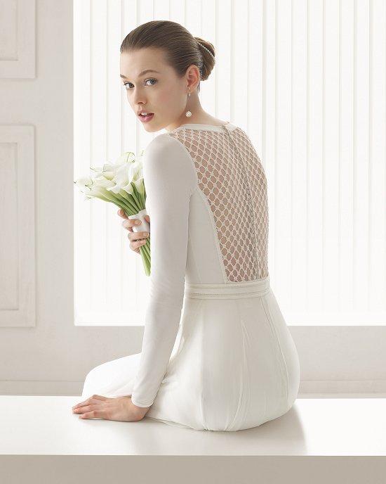 Коллекция свадебных платьев Rosa Clara 2015 фото №53