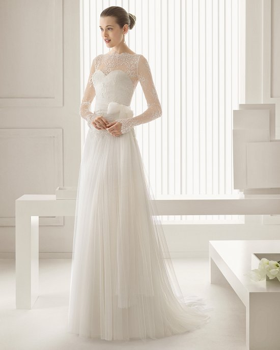 Коллекция свадебных платьев Rosa Clara 2015 фото №58