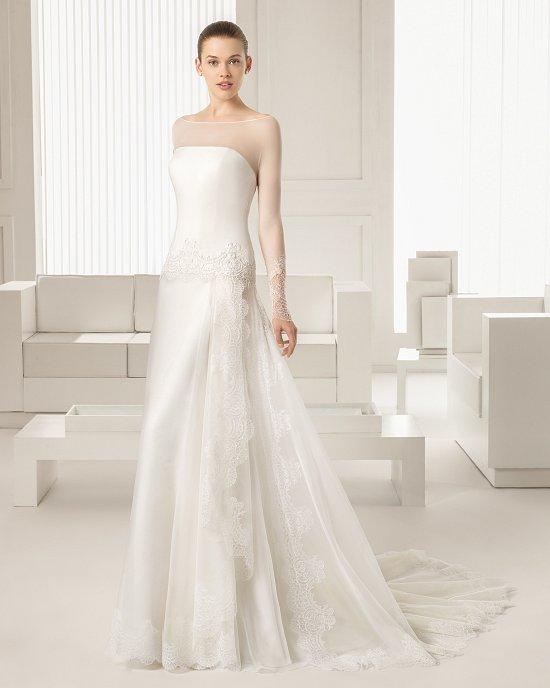 Коллекция свадебных платьев Rosa Clara 2015 фото №59
