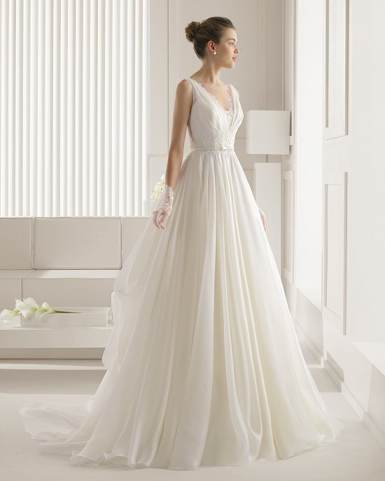 Коллекция свадебных платьев Rosa Clara 2015 фото №62