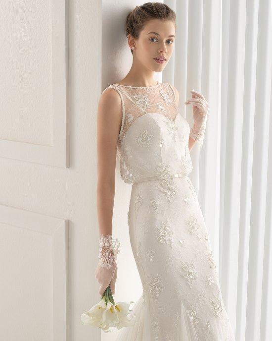 Коллекция свадебных платьев Rosa Clara 2015 фото №64