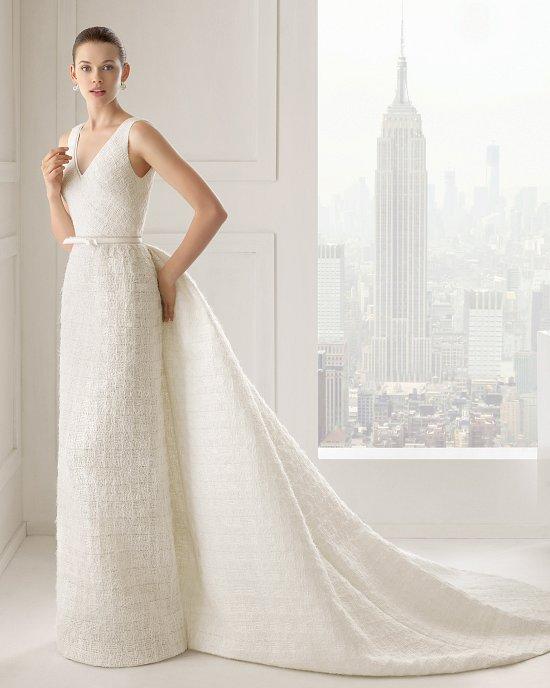 Коллекция свадебных платьев Rosa Clara 2015 фото №91