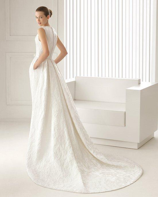Коллекция свадебных платьев Rosa Clara 2015 фото №93