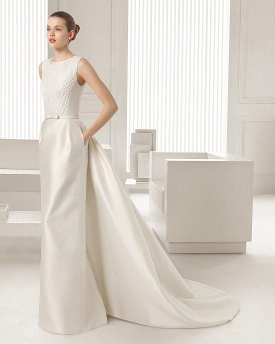 Коллекция свадебных платьев Rosa Clara 2015 фото №95