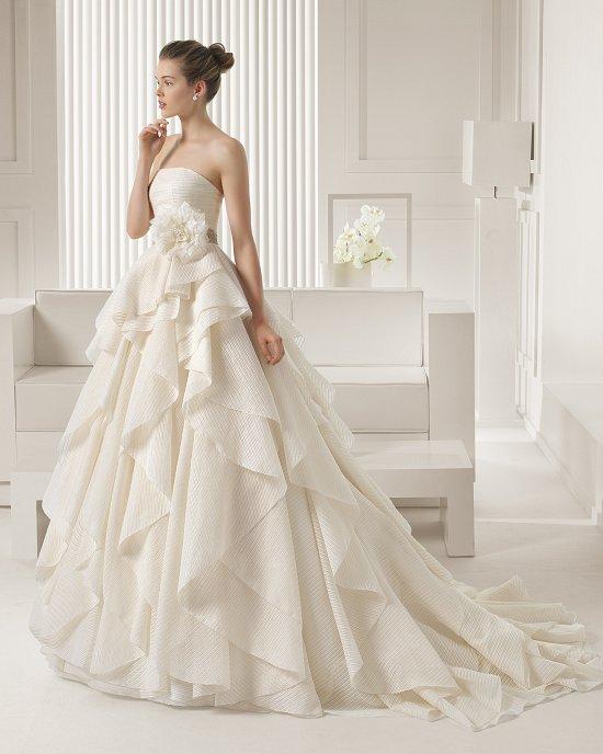 Коллекция свадебных платьев Rosa Clara 2015 фото №119